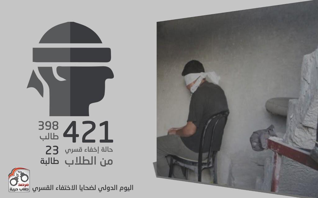 اليوم الدولي لضحايا الاختفاء القسري2