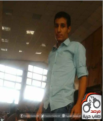 الطالب / مصطفي الحسيني طبور